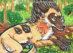 Epsilon ACEO by RonTheWolf