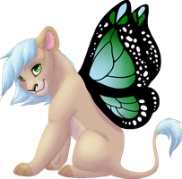 Butterfly Lion Remake by Magicionary