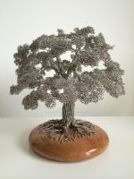 CM008 Wire tree sculpture by CliveBarrieMaddison