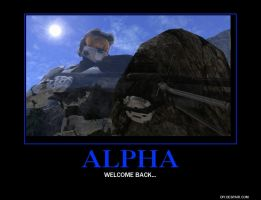 Alpha reborn Poster by Overlordflinx