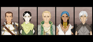 Dragon Age II Romances by alex-nat