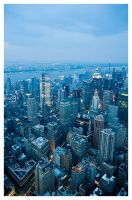 On Top of New York by zuckerblau