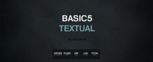 BASIC5 TEXTUAL ADDON by serialZz