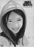 A Cute Smile Portrait by p2tedited