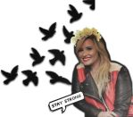 Demetria Lovato Wallpaper 3 by Sasxi