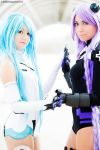 White and Purple goddesses by Saru-Cosplay
