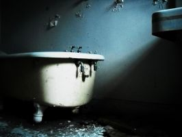 abandoned Mansion Bathtub by jnicolini12