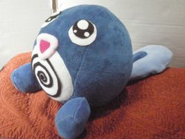 Poliwag Pokemon Plush by cosmiccrittercrafts