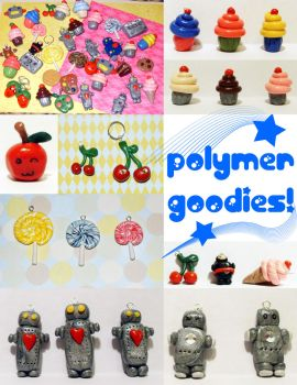 Polymer Goodies by DeliaTheArtist