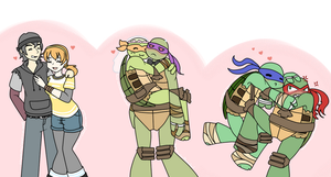 TMNT-International day of tolerance by Neko-mirichan