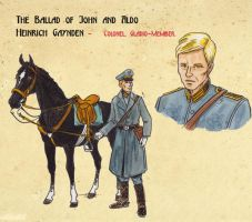 Character Sheet Heinrich Gaynden by DianaKennedy