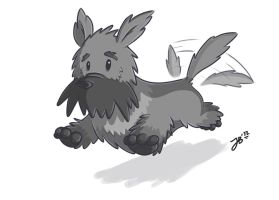 Scottish Terrier by Lucidious89