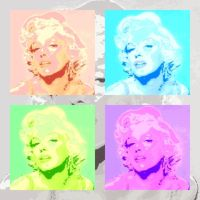 Marilyn Back in Pop by DiosaLuminosa