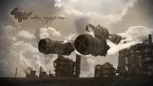 Steampunk air pod by hjorvarth