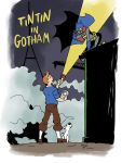 Tintin in Gotham by weremole