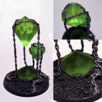 Warhammer 40k Necron crystals by Vice552
