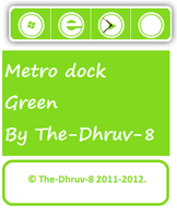 Metro dock green by TheDhruv