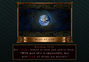 Made by God by Christsaves