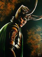 Loki Painting by VanZanto