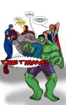 Gregor VS The Avengers by cap1206