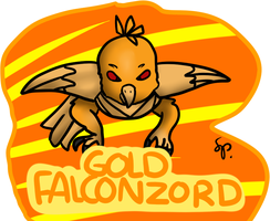GOLD FALCONZORD EQUESTRIASPIRITZORD COLOR by o by DEVIOUS-DISCORD-RP