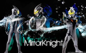 Mirror Knight of Ultraman Zero by RPNagato
