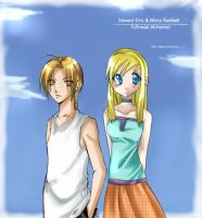 FMA EdxWinry collab with crux. by la-mi-chan