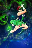 Magic Gal, Hal Jordan by Cocoz42