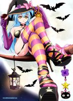 Lucent Heart Halloween Theia by incro300