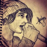 Alex Gaskarth by Leezyoconnor