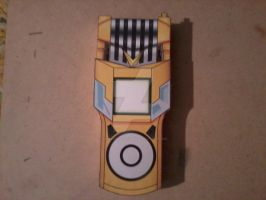 Yuu's Fusion Loader Digivice, Open PaperCraft by SuperVegeta71290