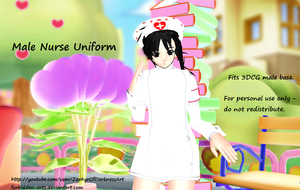 [MMD Download] Male Nurse Outfit by Forbidden-Arts