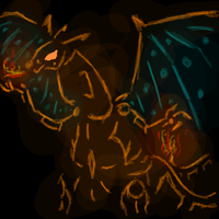 Tron Charizard by Pokemontrainergigi