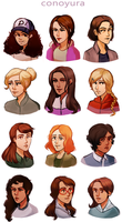 TWDG girls by conoyura