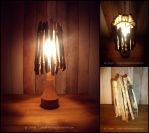 Driftwood Light by sarya-atelier