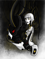 Portal 2 - GLaDOS by Brainiac6Techgirl