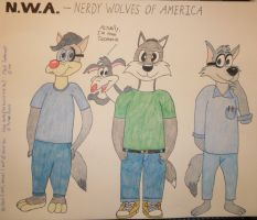 The New N.W.A. by toonaddict2001