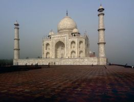 TAJ MAHAL SIDE VIEW by TADBEER