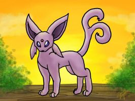 request- Espeon by min-mew