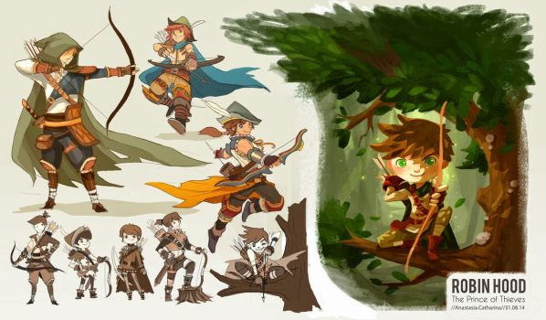 Robin Hood - Robin Hood Re-Imagined Thumbnails by anacathie