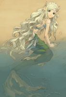 Mermaid Ashore by Rochnan