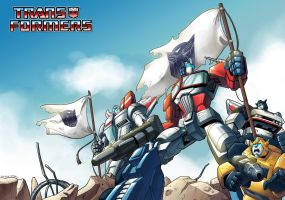 My first G1 illust_final by wcomix