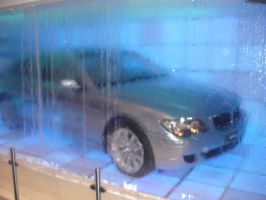 BMW Behind the Waterfall by dj-voyager