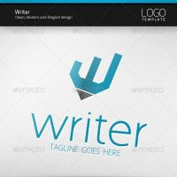 Writer Logo by artnook