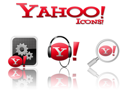 Yahoo icons by monolistic