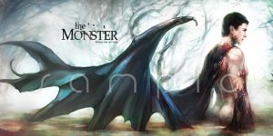 The Monster by Haining-art