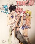 Fairy-tail- Gratsu by atem15