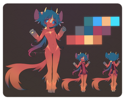 [Ref Sheet] Lumie by allijaytor