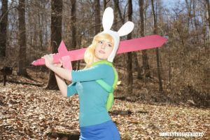 Fionna The Human: I'm All About Swords by HarleyTheSirenxoxo