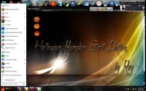 Windows 7 PUMPKIN Start Orb by Raizen9